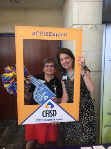 CFISD VIP Donna and Melissa